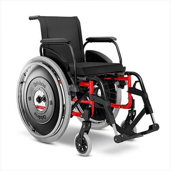 Cadeira de rodas AVD Alum - Alento Hospitalar