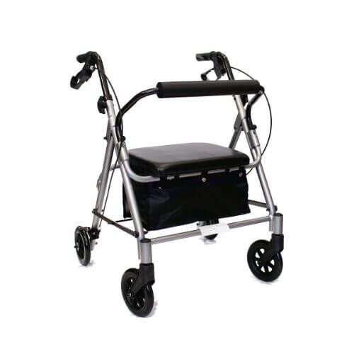 Andador 4 rodas - Alento Hospitalar
