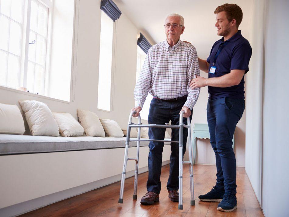 Andador para idosos - Alento Hospitalar