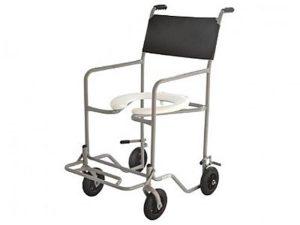 Cadeira de banho simples Ortometal - Alento Hospitalar