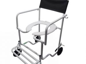 Cadeira de rodas banho obeso ortometal - Alento Hospitalar