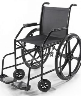 Cadeira de rodas simples - Alento Hospitalar