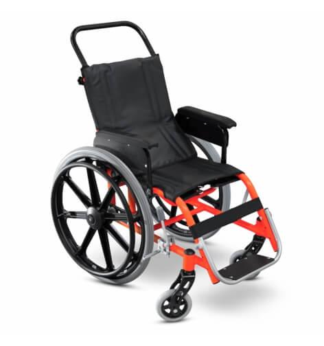 Cadeira de rodas infantil gazela ultra lite - Alento Hospitalar