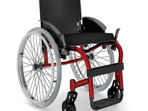 Cadeira de rodas Star Lite Ortobras - Alento Hospitalar