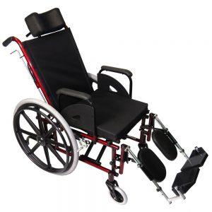 Cadeira de rodas reclinável prolife - Alento Hospitalar