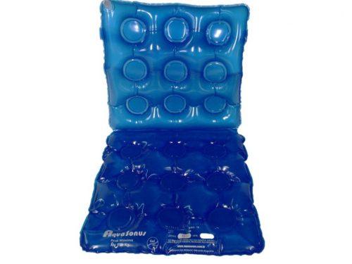 Almofada assento gel encosto inflavel - Alento Hospitalar