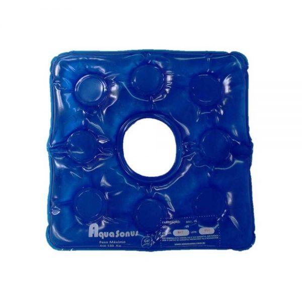 Almofada gel com orifício - Alento Hospitalar
