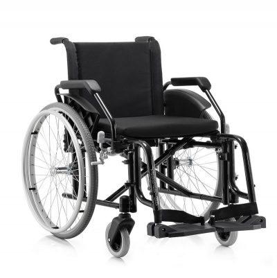 Cadeira de rodas dobrável em x - Alento Hospitalar
