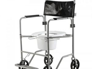 Cadeira de banho com bacia - Alento Hospitalar